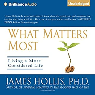 What Matters Most audiobook cover art