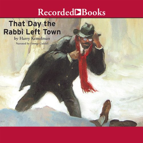 The Day the Rabbi Left Town audiobook cover art