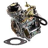 1-Barrel Carburetor for Ford 4.9L 300 Cu/4.1L 250 Cu/3.3L 200 Cu Engine,for Ford Broncos/Fairmont/Granada F100 F150 F250&F350,for Ford Econoline E Series 1967-1985 Automatic Choke