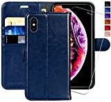 iPhone XS Wallet Case/iPhone X Wallet Case,5.8-inch,MONASAY