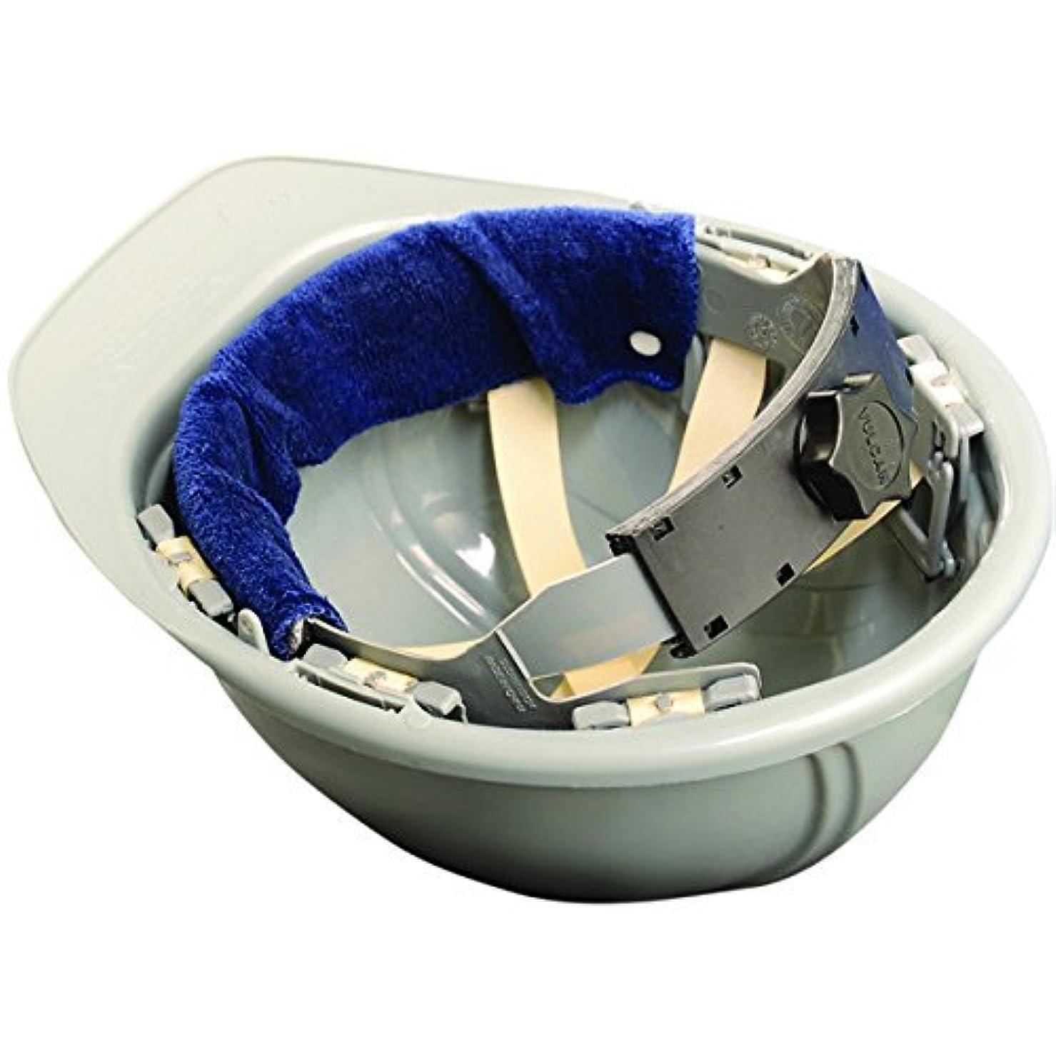 包帯どこにも担当者Occunomix 870b100スナップオンハード帽子sweatband-navy-bulk pack-100?(パックof 100?)