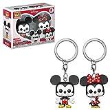 Funko POP! KEYCHAIN: Disney - Mickey & Minnie 2PK