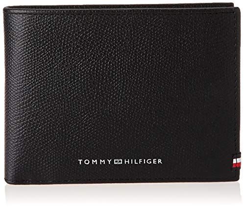 Tommy Hilfiger Business CC And Coin, Piccola Pelletteria Uomo, Nero, One Size