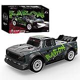 WGFGXQ 1:16 2.4G Ready to Run RC Cars para Adultos, Drift RC Car, 30 KM/H High Speed Racing Rally Car con Luces Delanteras -