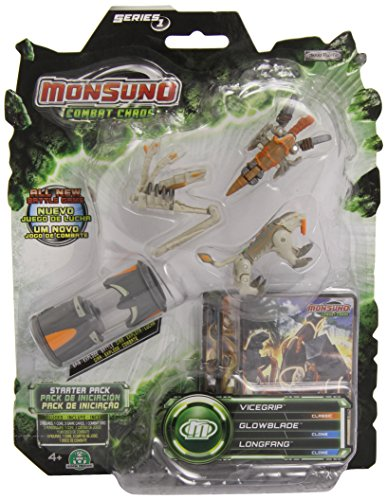 Monsuno–Blister 1Core/3Figuren/3Karten Serie A (GIOCHI PREZIOSI 52507)
