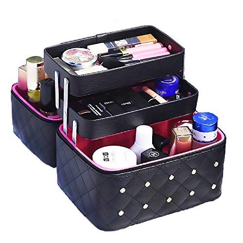 Twinkle goods (ツインクルグッズ) メイクボックス コスメボックス おしゃれなデザイン メイク道具をすっき...