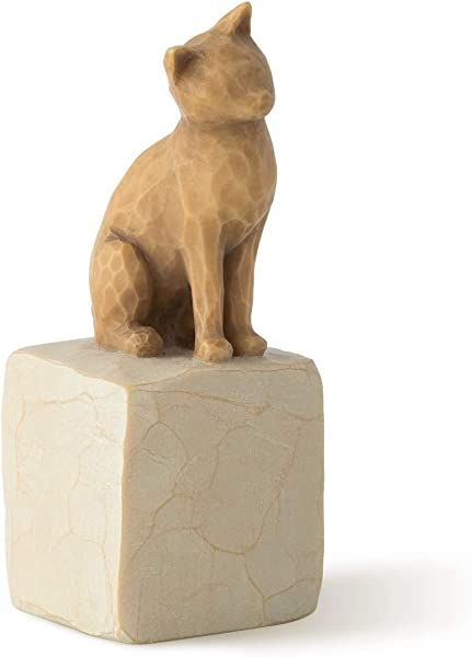 Willow Tree Love My Cat Light Sculpted Hand Painted Figure