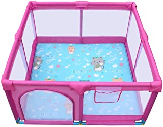 L TSA Safety Gates Baby Playpen Activity Center Fence Children s Play Toddler Fence With Floor Mat Baby Kids Play Pens