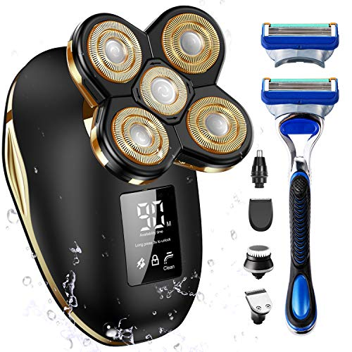 OriHea Electric Shavers for Men Bald Head Shaver