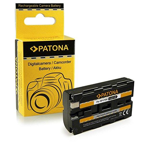 PATONA Batteria Sostituzione per Sony NP-F550 compatibile con Sony CCD-TR940 CCD-TR3000 DCR-TRV900