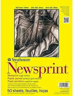 Strathmore 307-18 300 Series Newsprint Pad, Smooth 18
