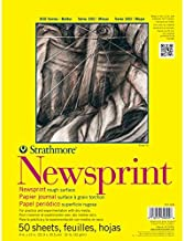 Strathmore 307-18 300 Series Newsprint Pad, Smooth 18