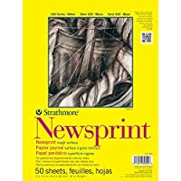 ストラスモアST307-18 300シリーズ18 ''×24 ''スムーズなテープバウンド新聞紙パッド