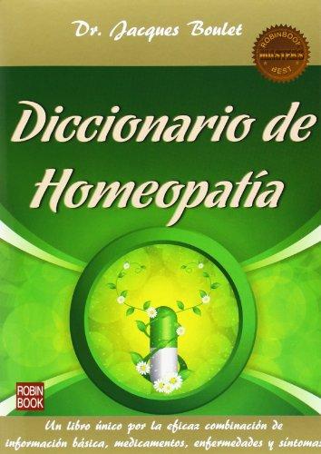Diccionario De Homeopatía (Masters Salud (robin Book))