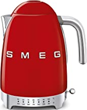 Smeg Electric Kettle, 1.7L, Red