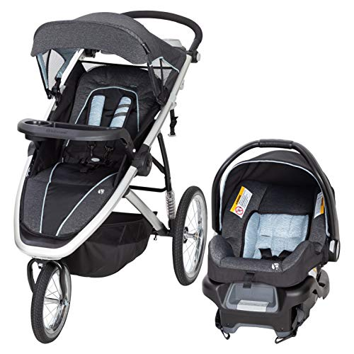 Baby Trend Go Gear Propel 35 Jogger Travel System, Blue Spectrum