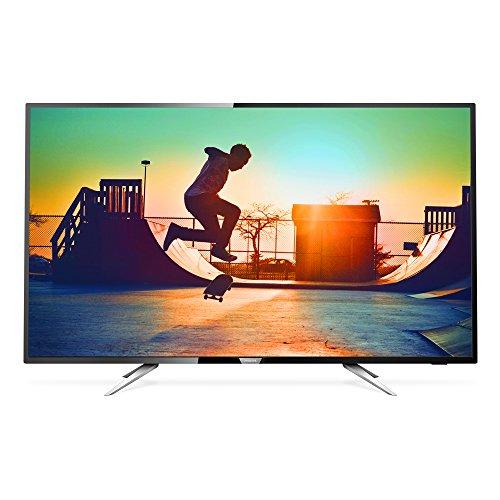Smart TV LED 50' UHD 4K com Conversor Digital, Philips 50PUG6102/78, Preto