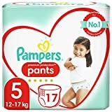 Couches-culottes Pampers Taille 5 (12-17 kg) - Active Fit Pants, 17 couches - Pack Small