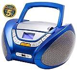 Lauson Lecteur CD | Radio Portable | USB | Radio Stéréo CD Lecteur MP3 pour Enfant | Chaîne stéréo | Prise Casque | Aux in -...