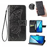 ESONG Case for UMIDIGI A11 Pro Max Case,Embossed Butterfly