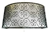 Protector de chimenea de hierro forjado - Art. 6362 - Protección contra chispas - Accesorios para chimenea antichispas