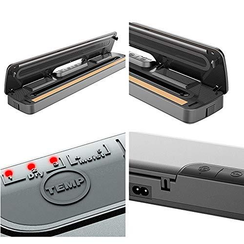 ECHometec真空パック器四つモード搭載フードシーラー密封/真空/吸気可能家庭用業務用卓上自動密封バック機