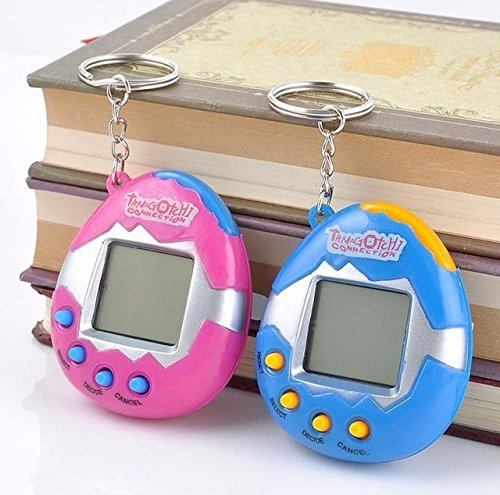 Unknown Digital Pet - Virtual Pet Keychain - Tamagotchi Electronic Pets Toys 90S Nostalgic 49 Pets in One Virtual Cyber Toy Funny Tamagochi - Tamagotchi Pet