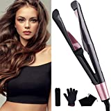 Best Curling Iron 1 1 2s - LHY HOME Salon Hair Flat Iron Straightener Review