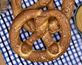 """Authentic Bavarian pretzels pack a fluffy, chewier inside and a nutty brown, crispier outside; There's a certain """"tang"""" to the Bavarian style pretzel that sets it apart from other soft pretzels Our pretzels are all-natural; No preservatives, additive..."""