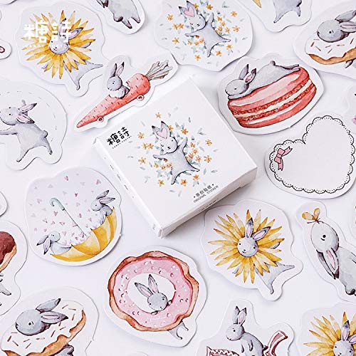 BLOURE maand haas leuk dagboek papier mini kleine bol Kawaii decor planner sticker scrapbooking flakes briefpapier