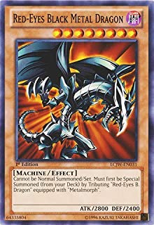 Yu-Gi-Oh! - Red-Eyes Black Metal Dragon (LCJW-EN031) - Legendary Collection 4: Joey's World - 1st Edition - Common
