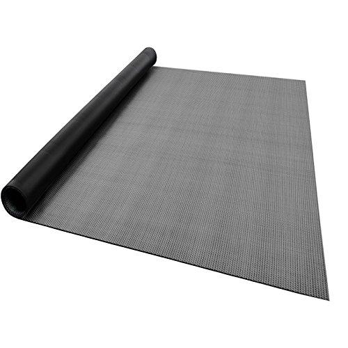 casa pura® Indoor- und Outdoor-Bodenbelag Lucca | kunstvoll gewebter Terrassenteppich | als Outdoor Teppich Meterware oder Läufer für innen | 40 Größen (90x400cm)
