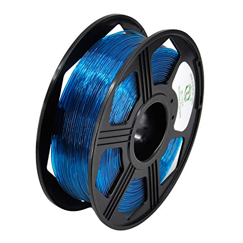YOYI 3D Printer Filament,TPU Flexible Filament 1.75mm 0.8kg Spool Dimensional Accuracy +/- 0.03 mm,109% Europe Raw Material(teal)