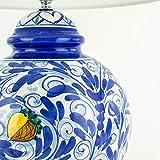 Zoom IMG-1 lume in ceramica di caltagirone