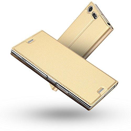 Radoo Funda Sony Xperia XZ Premium, Slim Case de Estilo Billetera Carcasa...