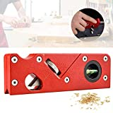 Chamfer Plane for Wood, Metal Woodworking Edge Corner Plane Flattening Tool, Woodwork Hand Planer for Quick Edge Trimming and Chamfering, Carpenter Gift