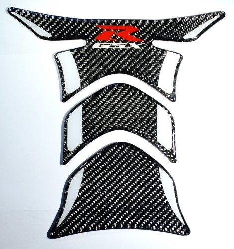 RZ Moto Fit Suzuki GSX-R GSXR 1000 600 750 Carbon Fiber Motorcycle Tank Protector Pad sticker trim