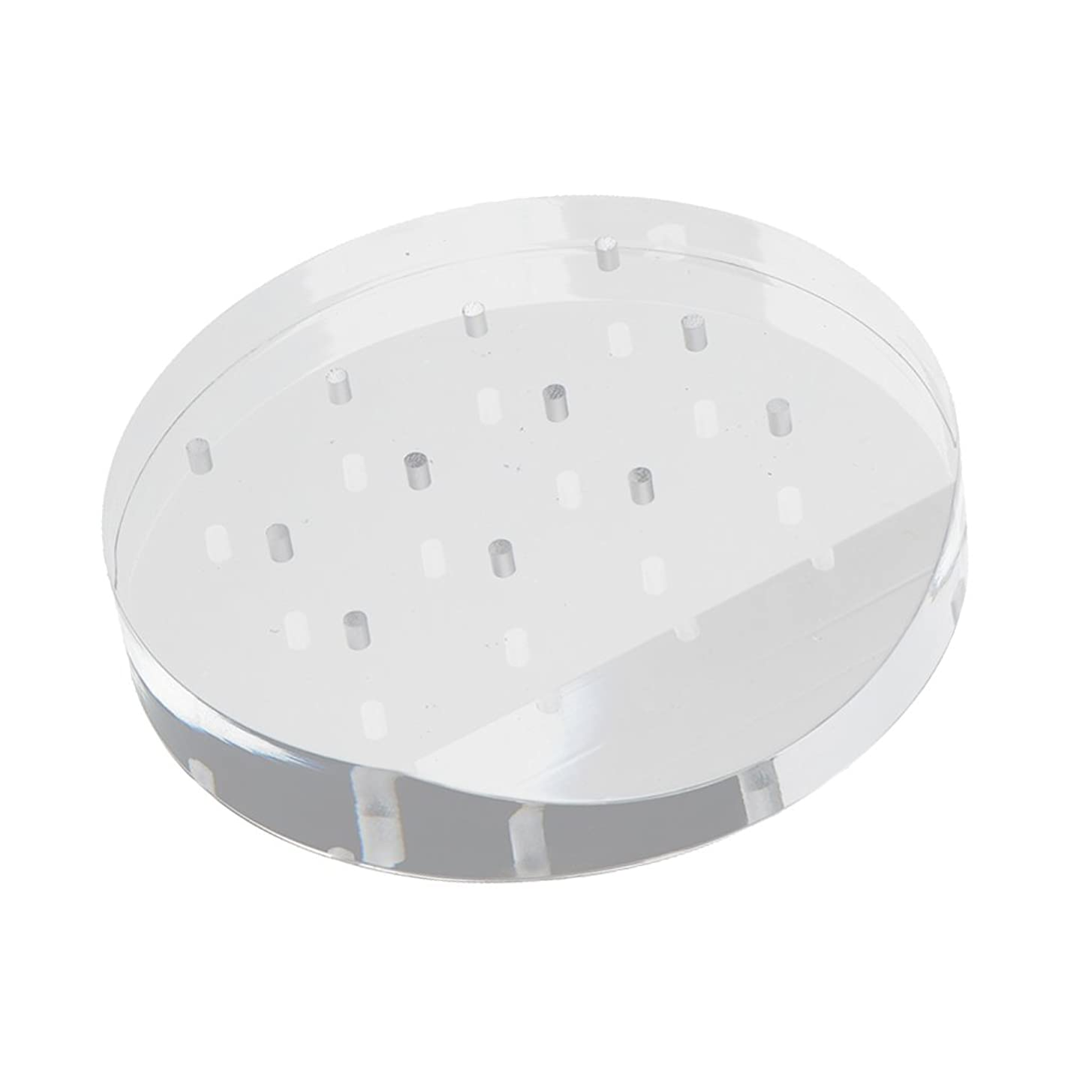 絶対にアヒル作りますSONONIA ネイルドリルビット ホルダー スタンド アクリル 12穴 マニキュア ネイル 収納オーガナイザー 便利 高品質