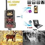qianqian Piège À Photos pour Caméra Wild 550M 2G 16MP 1080P avec Transmission par Téléphone...