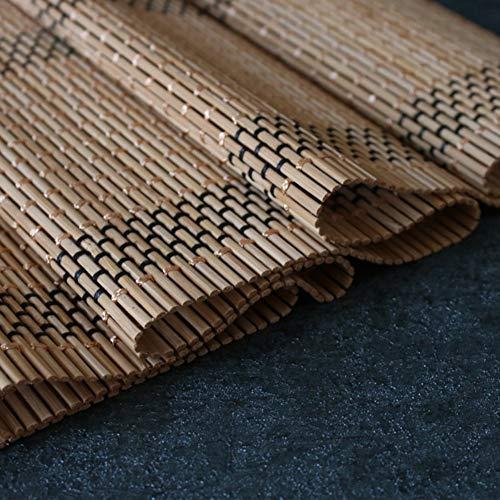 Tischläufer WXF Tischläufer & Geschirrtuch for Wohnzimmer Esszimmer, Bambus-Isoliermatte, 30cm und 60cm breit (Size : 30×100cm)