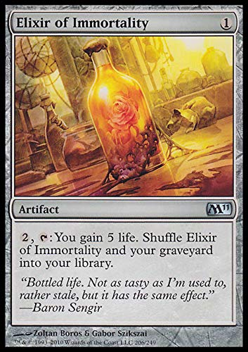 Magic: the Gathering - Elixir of Immortality - Magic 2011
