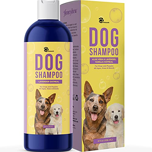 Cleansing Dog Shampoo for Smelly Dogs - Refreshing...