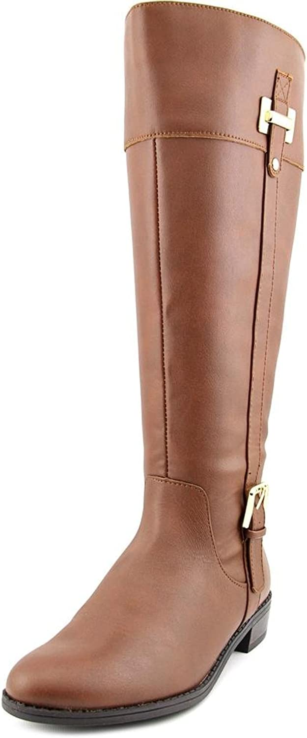 Karen Scott Womens Deliee Closed Toe Knee High Riding Boots(Certified Refurbished)