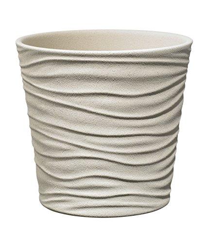 Soendgen Keramik Blumenübertopf, Sonora, saharabeige, 14 x 14 x 13 cm, 0629/0014/2097