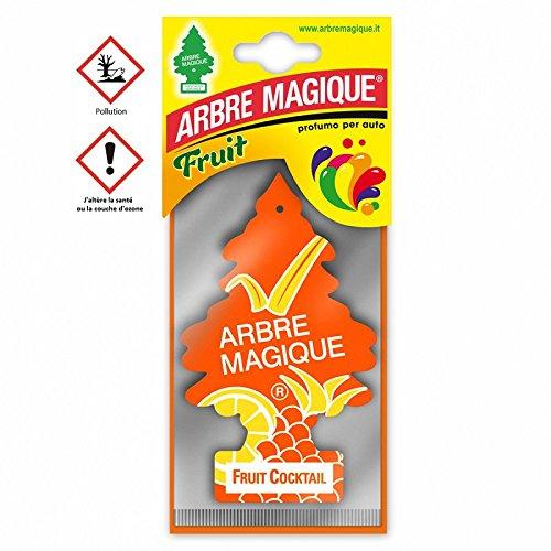 les colis noirs lcn Arbre Magique Fruit Cocktail - Accessoire Désodorisant Voiture - 447