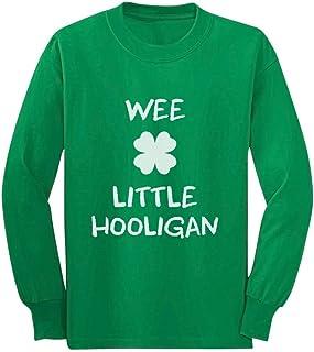 SpiritForged Apparel Wee Little Hooligan Toddler 3//4 Raglan Shirt
