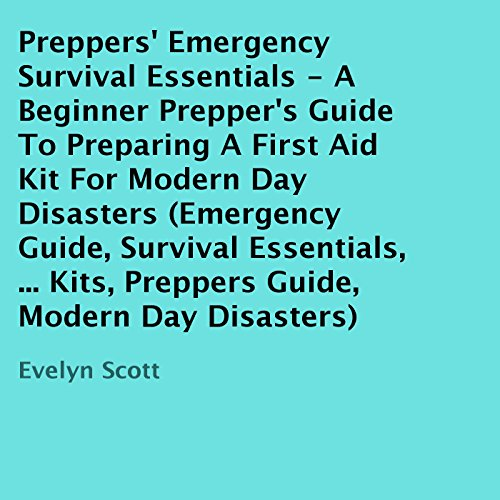 Preppers' Emergency Survival Essentials audiobook cover art