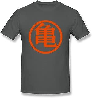 ToWi Men's Dragon Ball Z Kame Symbol O-Neck T-shirt DeepHeather XXL