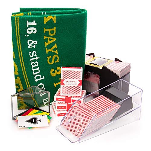 Blackjack Set mit 4 Deck Blackjack