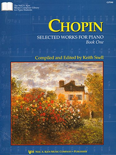 GP390 - Chopin - Selected Works for the Piano - Book 1